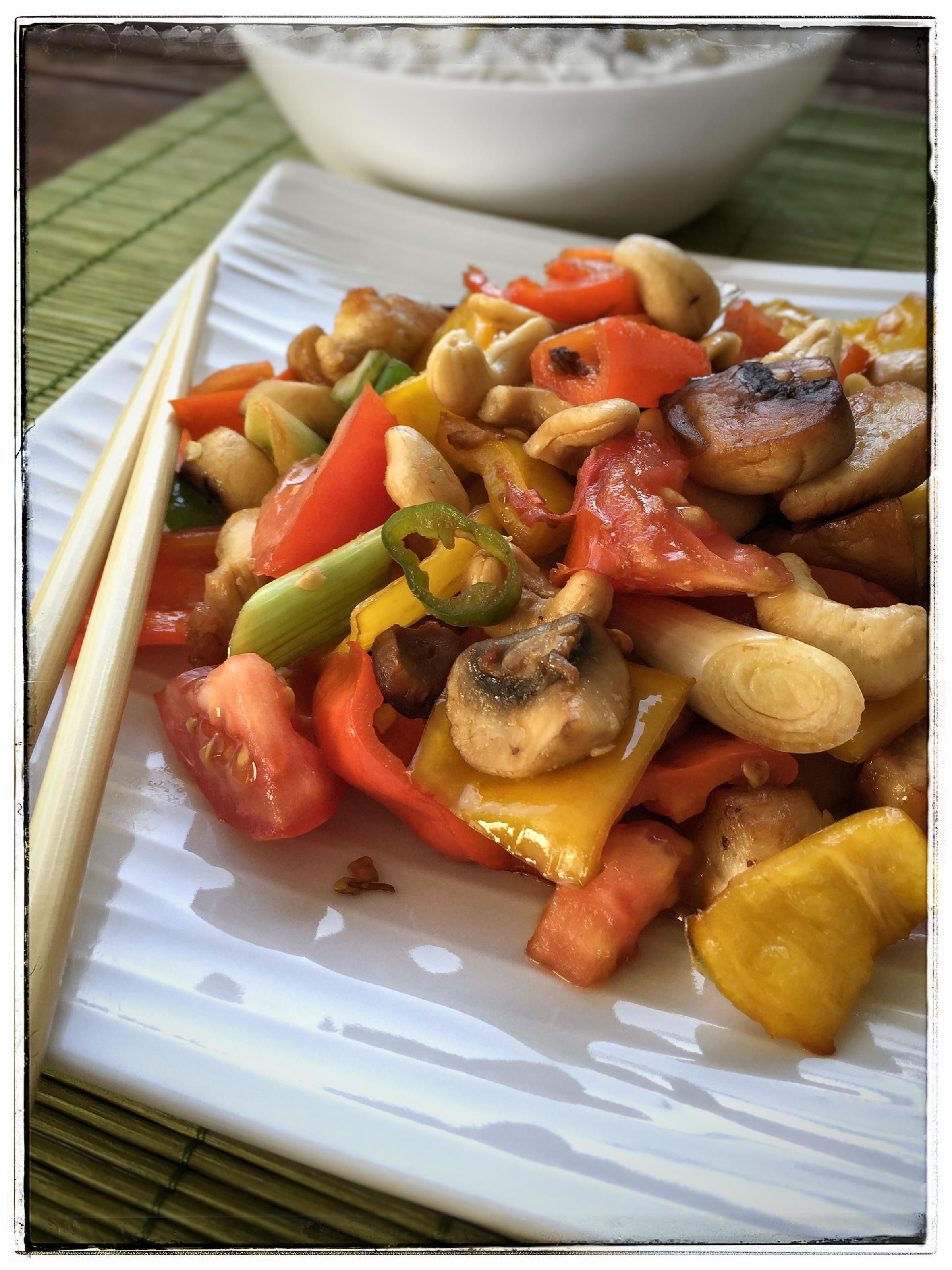 Cashew-Hähnchen – Gai Phad Med Mamuang